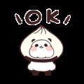 Yururin Panda: Omekashi Edition Sticker for LINE & WhatsApp | ZIP: GIF & PNG