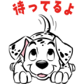 101 Dalmatians May Exclusive Sticker for LINE & WhatsApp | ZIP: GIF & PNG