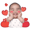 Ayafluu Tatan Sticker for LINE & WhatsApp | ZIP: GIF & PNG
