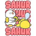 [BIG] Bobo & Lola: Ramadan Stickers Sticker for LINE & WhatsApp | ZIP: GIF & PNG