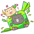 [BIG] Boogy Tamy: Ramadan Stickers Sticker for LINE & WhatsApp | ZIP: GIF & PNG