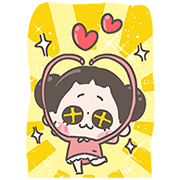 [BIG] Chuchumei Thankful Stickers Sticker for LINE & WhatsApp | ZIP: GIF & PNG
