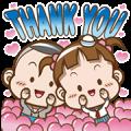 [BIG] Cocoa Thankful Stickers