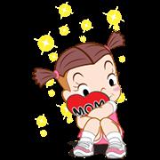 [BIG] Jumbooka Thankful Stickers Sticker for LINE & WhatsApp | ZIP: GIF & PNG