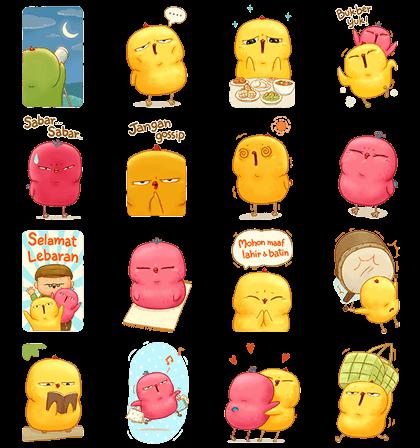 [BIG] Warbie Yama: Ramadan Stickers Line Sticker GIF & PNG Pack: Animated & Transparent No Background | WhatsApp Sticker