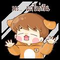 "Baby ""B"" Twins Pop-Ups Sticker for LINE & WhatsApp | ZIP: GIF & PNG"