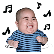 Baby Tatan Sticker for LINE & WhatsApp | ZIP: GIF & PNG