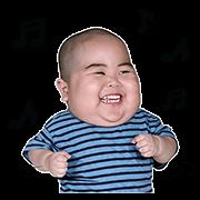 Baby Tatan Sticker for LINE & WhatsApp | ZIP: GIF & PNG