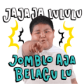 Bang Ijal: Pantun Fiki Sticker for LINE & WhatsApp | ZIP: GIF & PNG