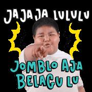 Bang Ijal: Pantun Fiki Sticker for LINE & WhatsApp | ZIP: GIF & PNG