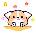 Corky Gorky Sticker for LINE & WhatsApp | ZIP: GIF & PNG