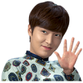 "Drama ""The Inheritors"" Special Sticker for LINE & WhatsApp 