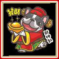 Hanji CNY Stickers Sticker for LINE & WhatsApp   ZIP: GIF & PNG