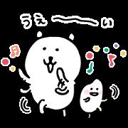Joke Bear×KOSE MAIHADA Sticker for LINE & WhatsApp | ZIP: GIF & PNG