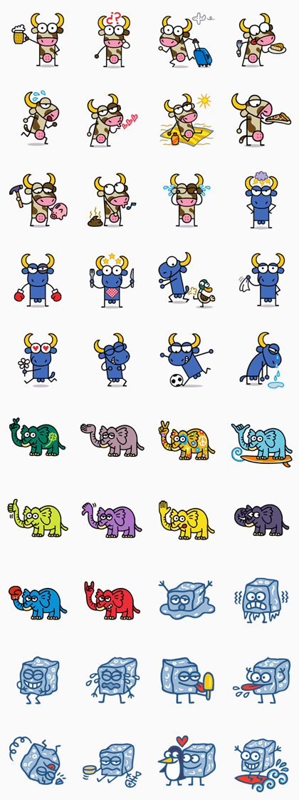 KUKUXUMUSU Line Sticker GIF & PNG Pack: Animated & Transparent No Background | WhatsApp Sticker