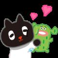 Kuroro Space Explorer: Buddy Buddy Sticker for LINE & WhatsApp | ZIP: GIF & PNG