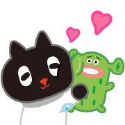 Kuroro Space Explorer: Buddy Buddy Sticker for LINE & WhatsApp | ZIP: GIF & PNG