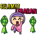 Little Hijab: Ramadan Edition! Sticker for LINE & WhatsApp | ZIP: GIF & PNG