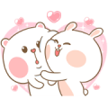 Mhee Noom & Tai Nim 5 Sticker for LINE & WhatsApp | ZIP: GIF & PNG