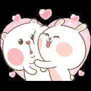 Mhee Noom & Tai Nim 5 Sticker for LINE & WhatsApp | ZIP: GIF & PNG