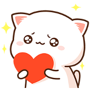 Mochi Mochi Peach Cat Daily Life Sticker for LINE & WhatsApp | ZIP: GIF & PNG