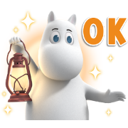 Moominvalley Sticker for LINE & WhatsApp | ZIP: GIF & PNG