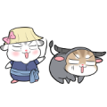 Pudding Hamster Animated Stickers Ver. 4