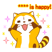 Rascal Custom Stickers Sticker for LINE & WhatsApp | ZIP: GIF & PNG