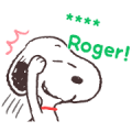 Snoopy Custom Stickers Sticker for LINE & WhatsApp | ZIP: GIF & PNG