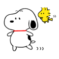 Snoopy Onomatopoeia Stickers Sticker for LINE & WhatsApp | ZIP: GIF & PNG