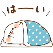 Stinging Tongue Seal×nobishirogirl Sticker for LINE & WhatsApp | ZIP: GIF & PNG