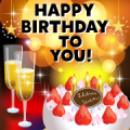 Timeless Birthday & Celebration Stickers Sticker for LINE & WhatsApp   ZIP: GIF & PNG