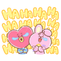 UNIVERSTAR BT21: Everyday Moments Sticker for LINE & WhatsApp | ZIP: GIF & PNG