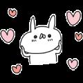 USAGI TEIKOKU × HOT YOGA STUDIO LAVA Sticker for LINE & WhatsApp   ZIP: GIF & PNG