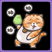 YO! YO! MI-PON Autumn Stickers Sticker for LINE & WhatsApp | ZIP: GIF & PNG