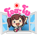 Yayo-chan 2 Sticker for LINE & WhatsApp | ZIP: GIF & PNG