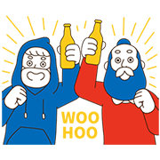 AUD Uncle Tommy's Everyday Fun Sticker for LINE & WhatsApp   ZIP: GIF & PNG