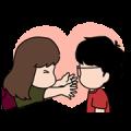 Aida & KiKi: Emotional Stickers