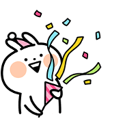 Animated Peppy Usagyuuun Sticker for LINE & WhatsApp | ZIP: GIF & PNG