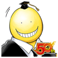 Assassination Classroom J50th Sticker for LINE & WhatsApp | ZIP: GIF & PNG
