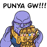 Avengers: Infinity War Sticker for LINE & WhatsApp | ZIP: GIF & PNG