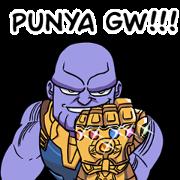 Avengers: Infinity War Sticker for LINE & WhatsApp | ZIP: GIF & PNG