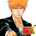 BLEACH J50th Sticker for LINE & WhatsApp | ZIP: GIF & PNG