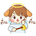 "Baby ""B"" Angel & Devil Sticker for LINE & WhatsApp 