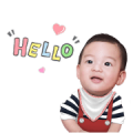 Baby Racing Sticker for LINE & WhatsApp | ZIP: GIF & PNG