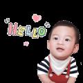 Baby Racing Sticker for LINE & WhatsApp   ZIP: GIF & PNG
