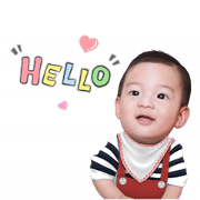 Baby Racing Sticker for LINE & WhatsApp | ZIP: GIF & PNG