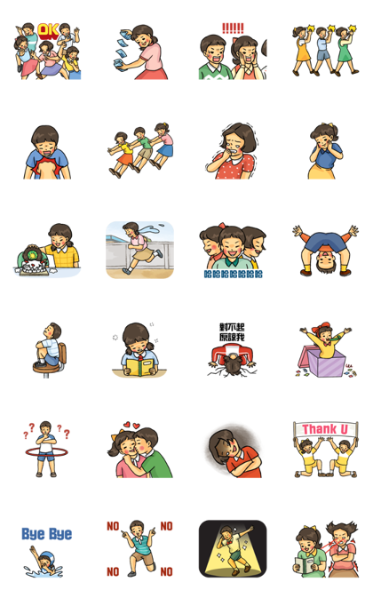 Bareun Life 2 Line Sticker GIF & PNG Pack: Animated & Transparent No Background | WhatsApp Sticker