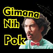 Benyamin: Biang Kerok Sticker for LINE & WhatsApp | ZIP: GIF & PNG