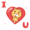 BluesBear Pop-Ups Sticker for LINE & WhatsApp | ZIP: GIF & PNG
